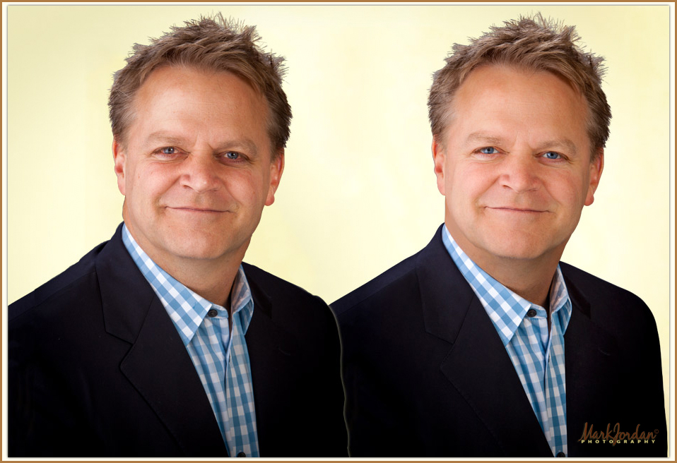 The Art of Retouching Headshots Part Three | It's Only Natural by Mark Jordan Photography